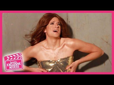 Greg James Dresses Up As Cheryl Versini-Fernandez - Heat Exclusive Access