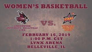 Women's Basketball: Lindenwood University - Belleville Lynx vs. Stephens College Stars