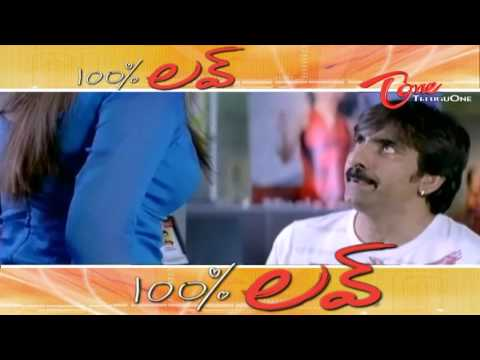 Its 100 Love - Love N Romantic Scenes from Telugu Movies