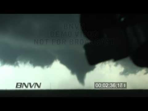 4/29/2009 Cedar Hill Texas Tornadoes stock video