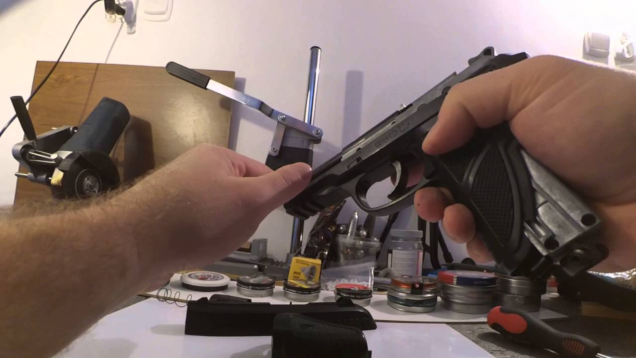 Gamo PT-85 disassembly #2
