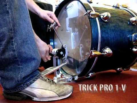 Trick Pro 1-V Drum Pedal pédale de grosse caisse
