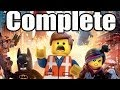 The Lego Movie Videogame Complete Walkthrough HD Gameplay Lets Play Playthrough