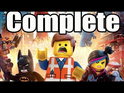 Search for The Lego Movie Videogame Complete Walkthrough HD Gameplay Lets Play Playthrough