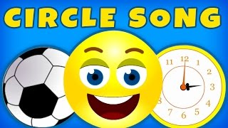 Circle Song | Learn Shapes & Teach Shapes to Babies Toddlers with SillySox