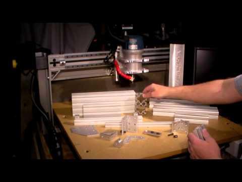Homemade DIY CNC Series - Aluminum Extrusion 80/20 - Neo7CNC.com - Episode 3
