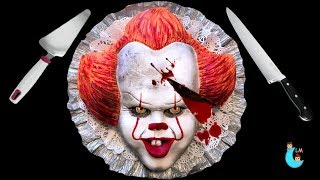 IT Pennywise Cake 🎈 Torta de Pennywise 🤡 Halloween Ideas 🤡 Halloween 2018