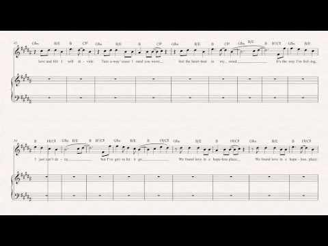 Clarinet - We Found Love - Rihanna Sheet Music, Chords, & Vocals