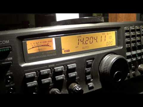 Argentina amateur radio station on 20 meters