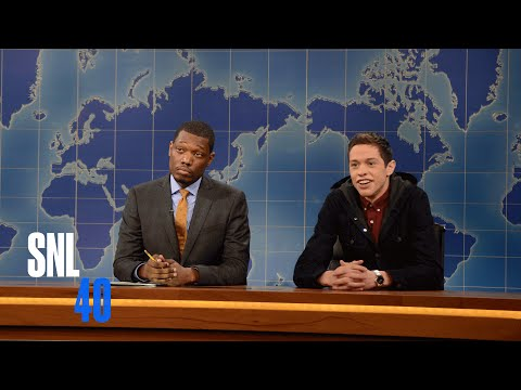 Weekend Update: Pete Davidson Talks Business | Saturday Night Live