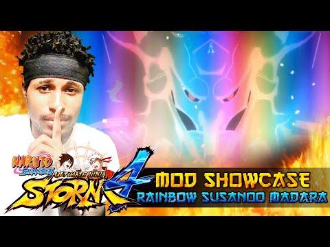Rainbow Susanoo Madara!!! Naruto Shippuden Ultimate Ninja Storm 4 Mods w/ ShinoBeenTrill thumbnail