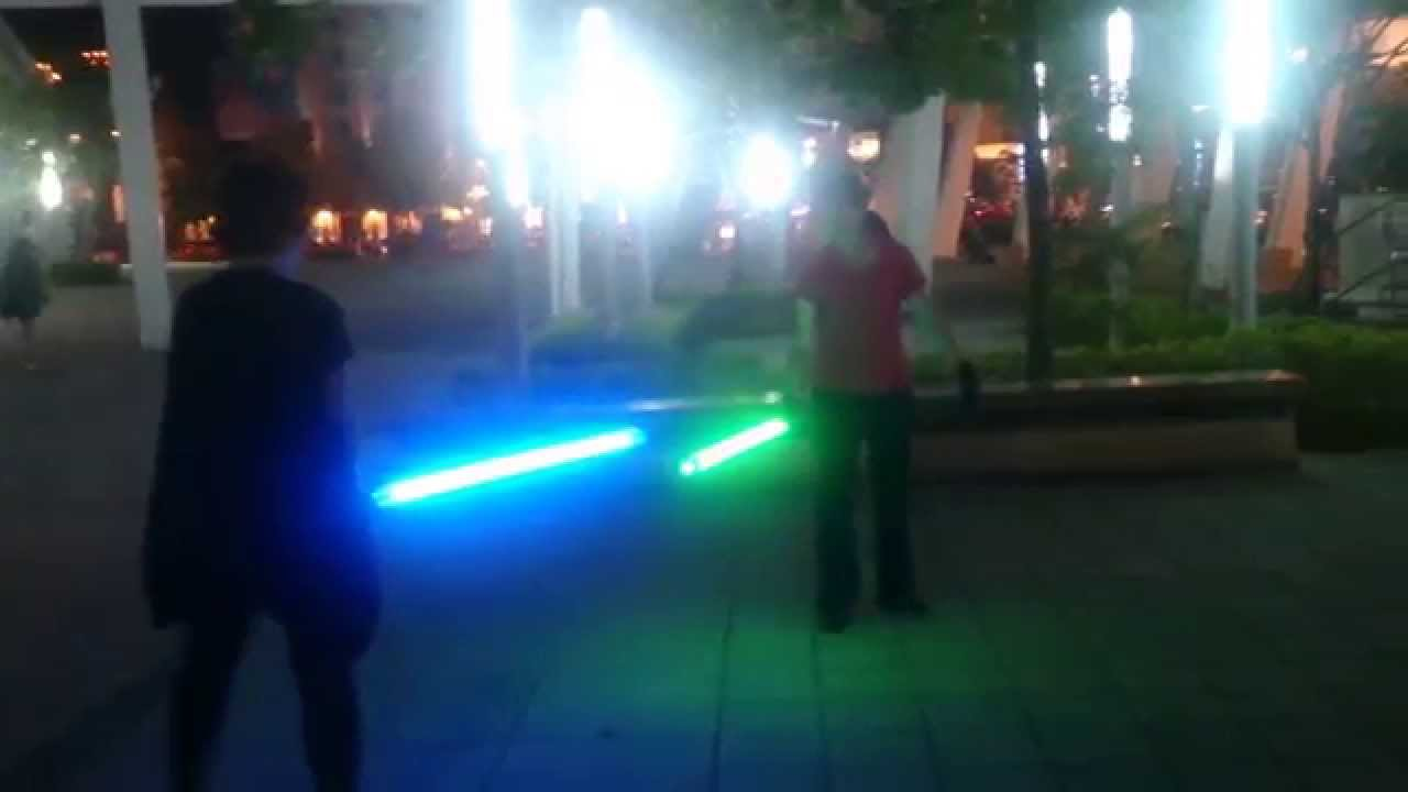how to win lightsaber duel