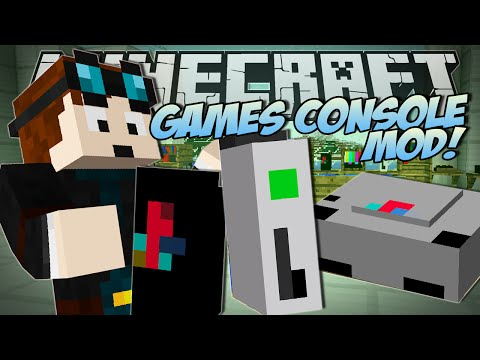 Minecraft   GAMES CONSOLE MOD (Xbox. Playstation & More!)   Mod Showcase
