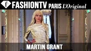 Martin Grant Spring/Summer 2015 | Paris Fashion Week PFW | FashionTV