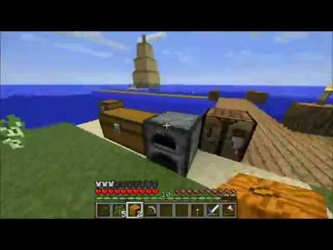 Pineleaf Plays Minecraft Survival Island Episode 12: Dry Dock