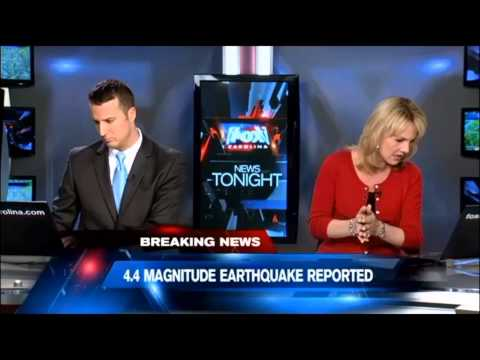 Mystery Boom Earthquake South Carolina Feb 15th 2014