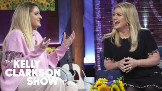 Meghan Trainor Says 'It's So Hard To Be Confident' | The Kelly Clarkson Show