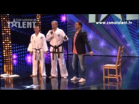 Taekwondo Brno | Česko Slovensko Má Talent 2012 video