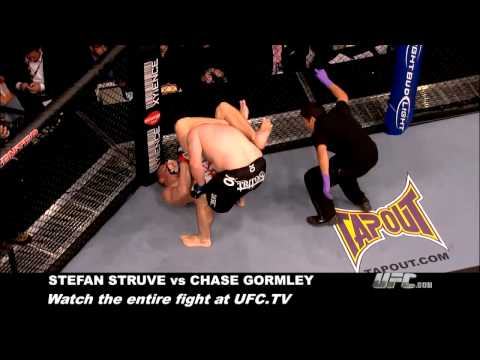 Submission of the Week: Stefan Struve vs. Chase Gormley