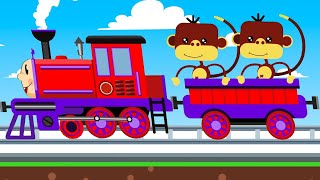 Train and Friends - Play On The Railroad - Super Cartoon Vehicles for kids