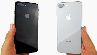 iPhone 7 Plus vs iPhone 8 Plus