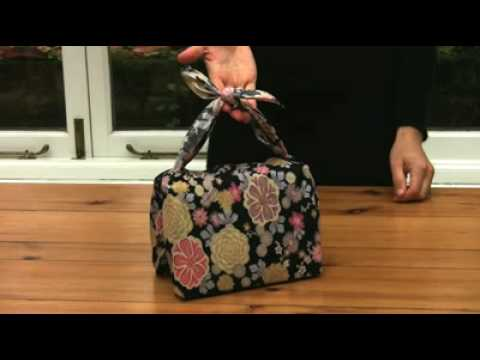 Furoshiki gift wrapping