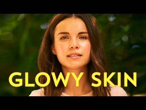 Super Glowy Skin + Makeup with No Foundation!   Ingrid Nilsen