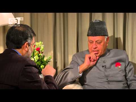 Farooq Abdullah Interview