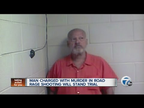 Man charged with murder in road rage shooting will stand trial