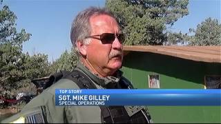 Siskiyou County busting up to eight illegal marijuana grows a week