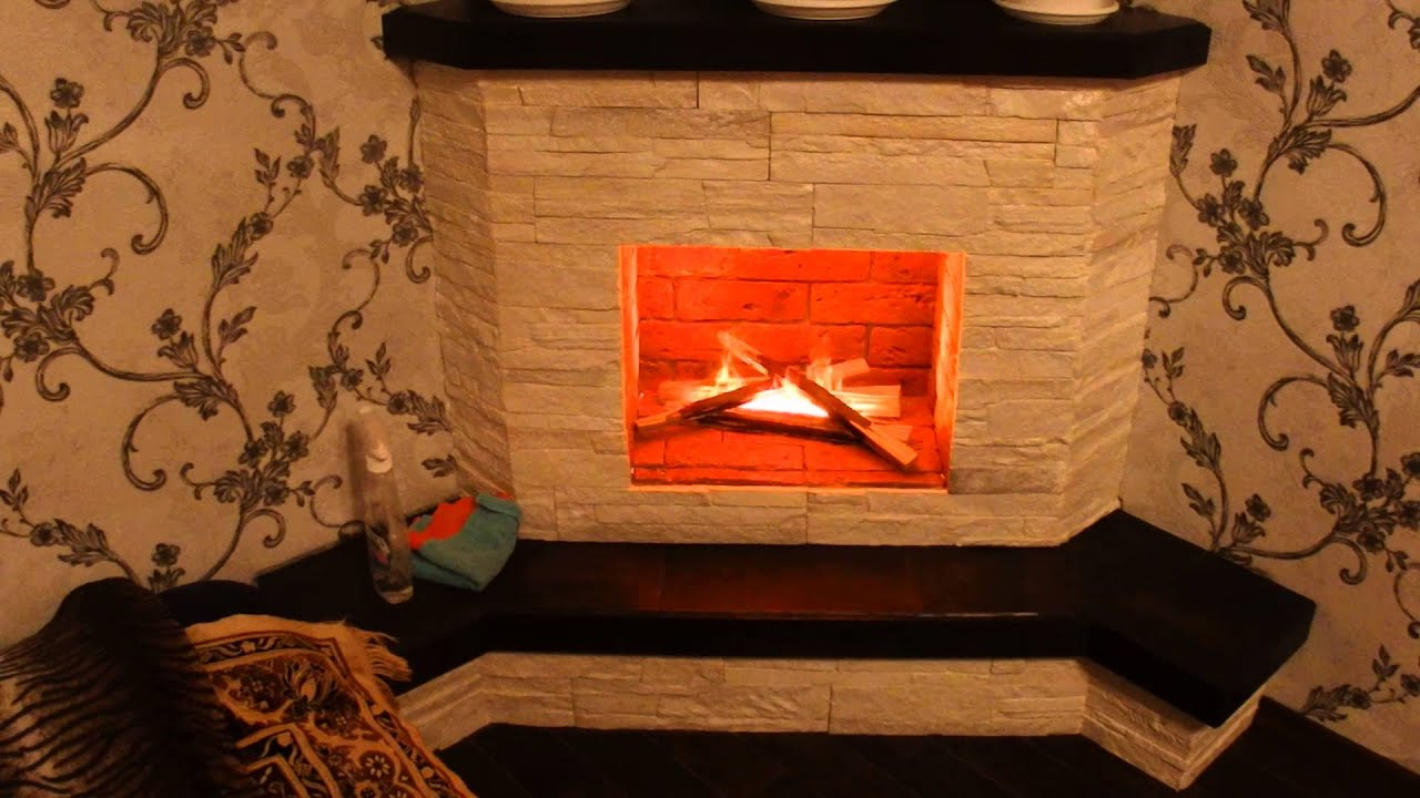 Декоративный огонь для камина своими руками