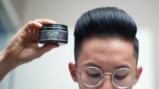 Firsthand Water Based Pomade Review -- Smooth & Strong