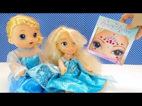 Холодное Сердце 2 Кукла Хочу Быть Эльзой Как Мама Наряжала Соню Мультик для детей