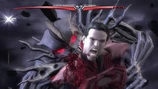 Injustice: Gods Among Us Cyborg Superman vs. Regime Superman