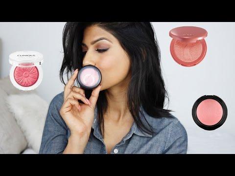 7 BEST Blushes for Medium/Brown Skin!