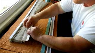 How to Shorten a Pleated Shade
