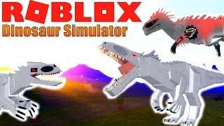 Dinosaur Simulator - How To Get An *ALBINO TERROR*!
