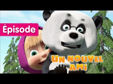 Masha et Michka - Un Nouvel Ami (Épisode 15) Dessins animés pour les enfants