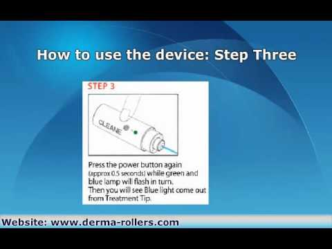 Cleane Acne Therapy Device Instructions