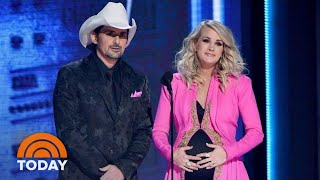 Carrie Underwood Reveals New Baby's Gender At CMA Awards | TODAY