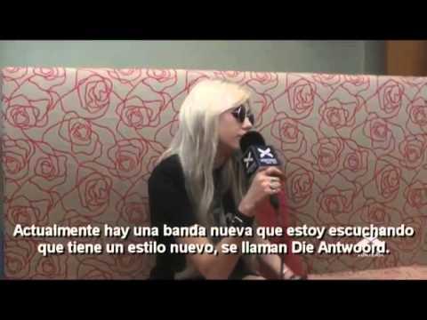 Taylor Momsen - Entrevista en argentina