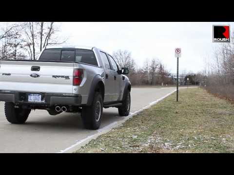 2011+ ROUSH Performance Exhaust 6.2L Ford F-150's   Raptor / Harley Davidson / Lariat Limited