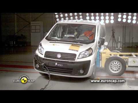 Euro NCAP | Fiat Scudo | 2012 | Краш-тест