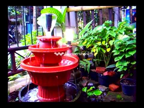 Air Mancur Teratai (DIY Lotus fountain)
