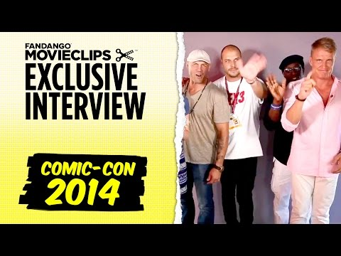 The Expendables 3 Exclusive Interview: Comic-con San Diego (2014) Hd video