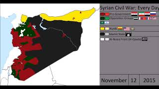 Syrian Civil War: Every Day