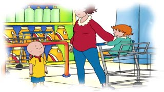 Funny Animated Cartoon Caillou | Caillou Goes Shopping |  Animated Funny Cartoons for Children