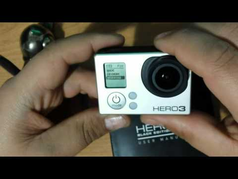 Ojo de pez gran angular GoPro Hero3 Wide Medium Narrow