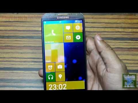 #12 Best 5 Android Launchers   Themes 2013 Ft. Galaxy S4 [must Watch] video