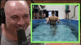 Joe Rogan   Training with an Underwater Treadmill